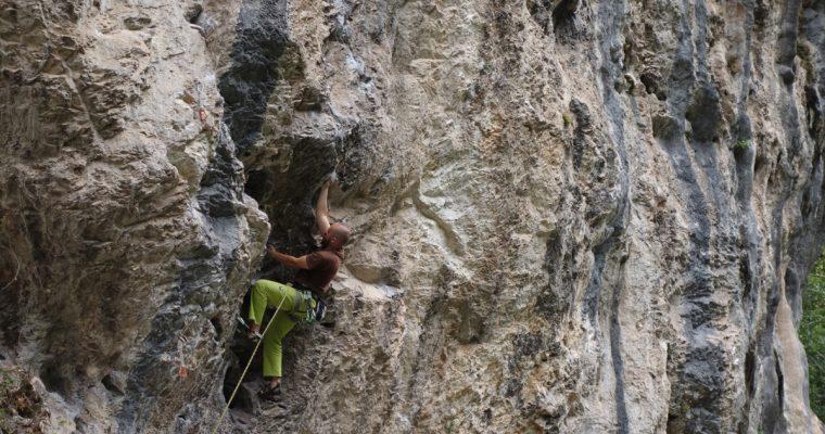 Climbing Steep & Overhanging Rock